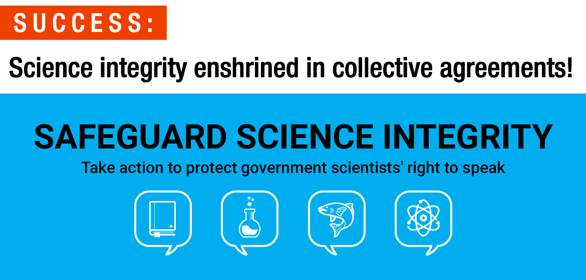 Science integrity enshrined in collective agreements