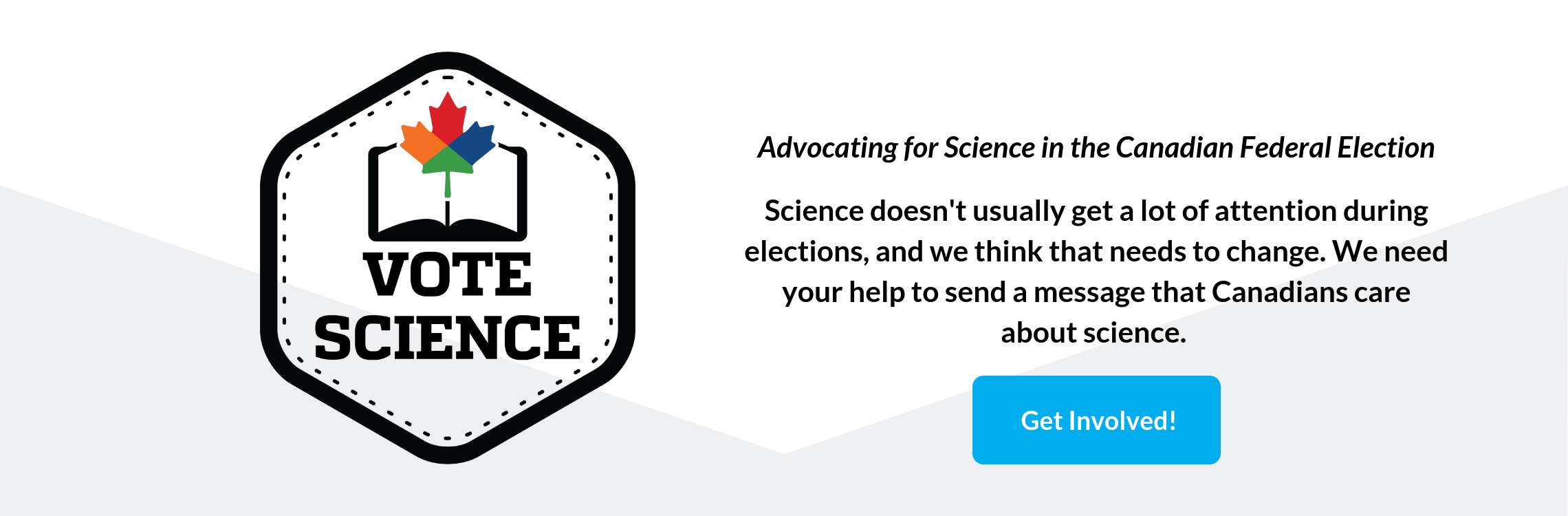 Vote Science - Get Involved!
