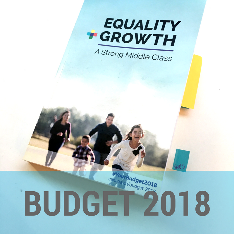 Equality & Growth - Budget 2018