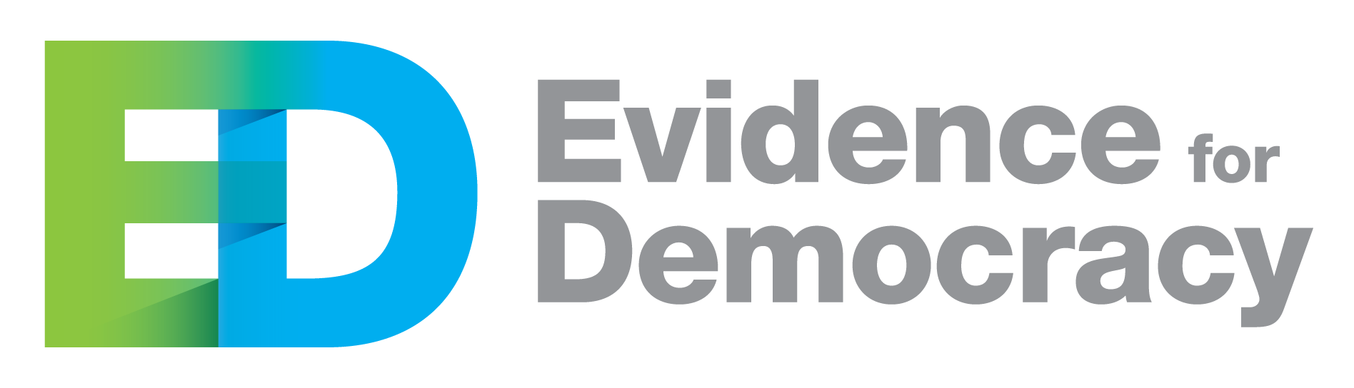 Evidence for Democracy logo