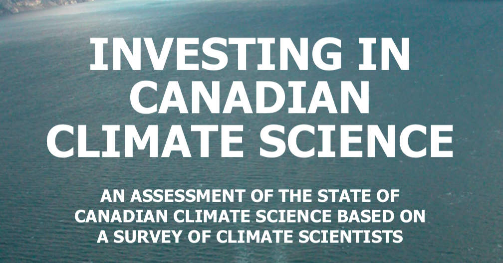 Investing in Canadian Climate Science